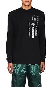 adidas long sleeve. adidas originals by alexander wang logo cotton long sleeve t-shirt - tops 505369522