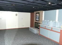 Painting Basement Ceiling Black Or White Home Desain 2018 Avaz