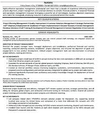 It Infrastructure Project Manager Resume Doc Operations