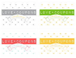 Create Your Own Voucher Template Extraordinary Make Your Own Love Coupon Notepad Free Download Kiki Company