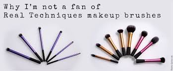 why i m not a fan of real techniques makeup brushes