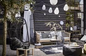 Zomerse Zwart Wit Tuin En Terras Vtwonen