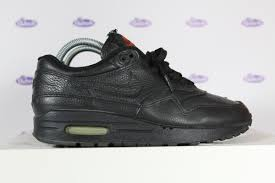 nike air max 1 all black leather 1999