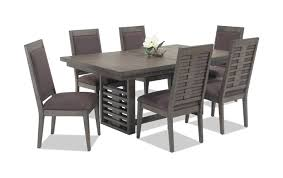 dining room table and chairs with wheels. Essex 7 Piece Dining Set Room Table And Chairs With Wheels .