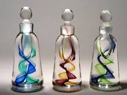 How To Decorate Perfume Bottles Recycled Perfume Bottles Decoration Pieces Recycled Things 14
