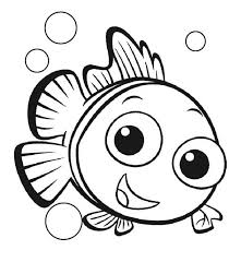 Baby Finding Nemo Coloring Pages Dory Page Printable Chronicles