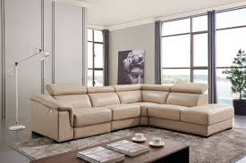 Leather Sectional Living Room Furniture 760 Sectional W Electric Recliner Leather Sectionals Living Room