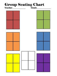 The New Group Seating Chart Seating Chart For Groups By Teachart08 Teachers Pay Teachers