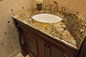 Custom Bathroom Countertops Adorable Why Choose A Granite Countertop For Bathroom Vanity