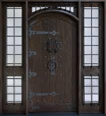 rustic double front door. Architecture, Custom Exterior Entrance Door Design Front Entry Doors With Sidelights Modern Rustic Double C