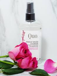 quality brushes deserve special care and the quo makeup brush cleanser in the professional way to preserve the life of your brushes
