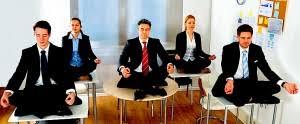 office meditation. Office Workers Meditating Meditation