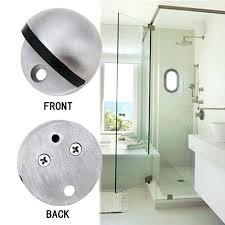 zinc alloy magnet door stop stainless steel stopper magnetic holder toilet glass doorstop sliding stops sliding glass door stopper stops uk