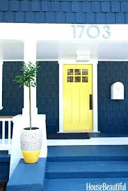 Navy Blue Front Door Ideas Grey Paint Colors For Gray House Farrow ...