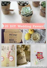 20 DIY Wedding Favors - HandmadeandCraft.com