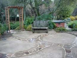 creative concrete patio ideas for patio style