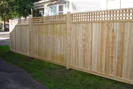 middlebury fence cedar privacy fencing in vermont throughout Cedar fence  panels Unique Model Cedar Fence Panels