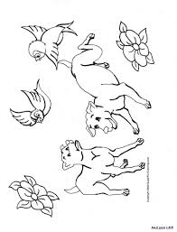 Puppy Dog Coloring Pages Free - Coloring Home