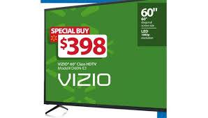 vizio tv walmart. walmart black friday 2016 ad: $398 60-inch vizio d60n-e3 1080p tv tv