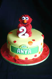 Elmo Birthday Cakes