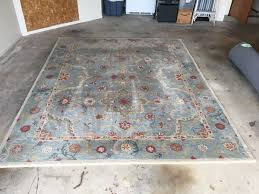 pottery barn leslie persian style wool rug 8x10