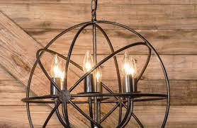 gallery of large black metal industrial style sphere chandelier with sphere chandelier