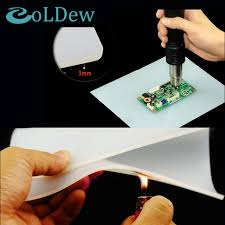 high quality heat resistant heat bga soldering station repair insulation pad insulator pad desk