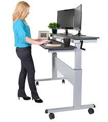 office desk standing. wonderful desk crank standing desks intended office desk