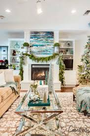 Design Twins Joyful Living 21 Beautiful Ways To Decorate The Living Room For Christmas