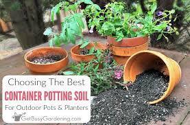 choosing the best potting soil mix for