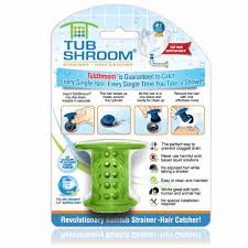 green tubshroom hair catcher strainer drain protector for tub 100 authentic 819358009029