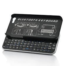 Sliding QWERTY Bluetooth Keyboard for iPhone 5 Thin Design [TSB