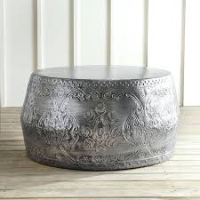 decoration silver and glass coffee table australia round