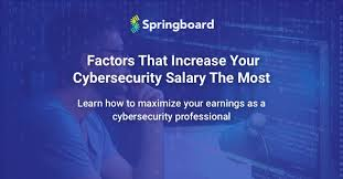 security salary top 5 factors that increase cyber security salary the most