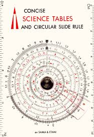 Slide Circle Sama Etani Circular Slide Rule 600 St