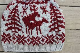 Ravelry Project Gallery For Fornicating Deer Chart Pattern