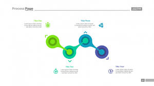 Process Chart With Four Elements Template Vector Free Download