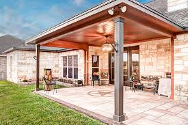 covered stamped concrete patio. Allied Outdoor Solutions Patio Houston Covered Stamped Concrete Patio