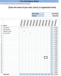 School Register Template Spreadsheet Daily Attendance Sheet Template