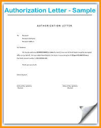 Business Letter Template Authorization Fresh Fresh Authorisation
