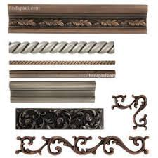 Decorative Tile Strips Metal Tile Trim Border Tiles Borders for Kitchen Backsplashes 16