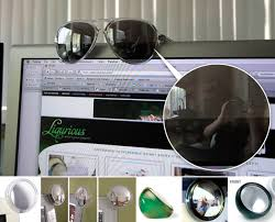 desk rear view mirror. Plain Mirror Glasses As Monitor Rear View Mirrors 082908 With Desk Mirror