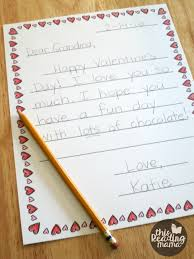 Valentines Day Letter Template Free Valentine Letter Templates For Kids This Reading Mama