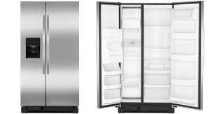 kenmore black refrigerator. sears: kenmore stainless steel side-by-side refrigerator only $825 delivered (reg. $1,350) \u2013 hip2save black