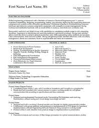 Circuit Design Engineer Sample Resume New Curriculum Vitae Resume Samples Free Download Personal Sample