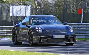 A new version of the car is set to be. 2022 Porsche 911 Gt3 Touring Spy Shots Track Star S Mild Mannered Sibling Spotted