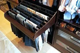 closet pant rack pants storage organizer for closet hanger california closet pant rack closetmaid pants rack