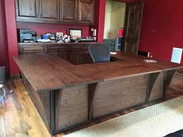 custom made reception desk office custom made office desk hand made home office by dk