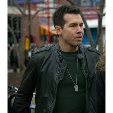 jon seda detective antonio dawson chicago p d jacket black leather jacket