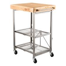 decoration stainless kitchen cart desire with steel top youresomummy com along 13 from stainless kitchen